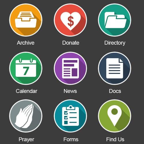 Mobile App Button Design