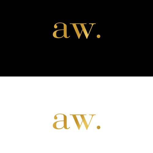 Concept logo for author and a writer