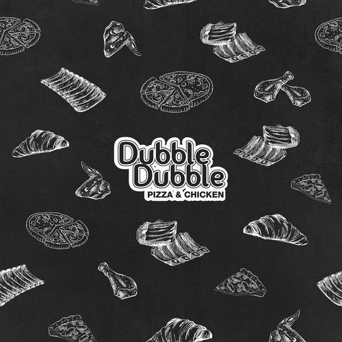 Dubble Dubble Pizza & Chicken Wallpaper