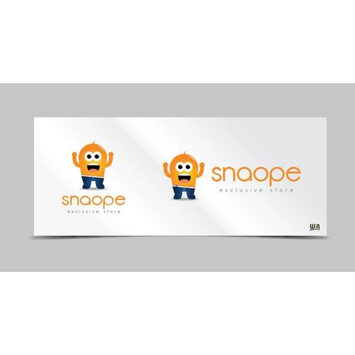 Snaope.no logo (with a minion-mascot?)