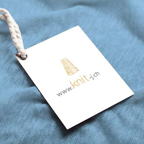 Logo für handgefertigte Strickkollektionen