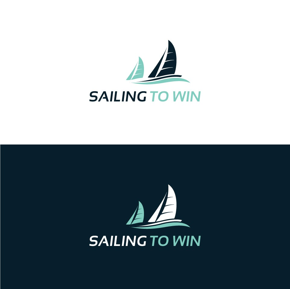 Dynamic design to depict sail boat racing