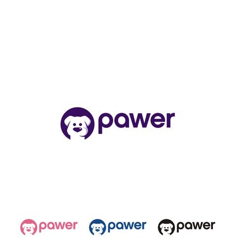 Pawer Logo concept