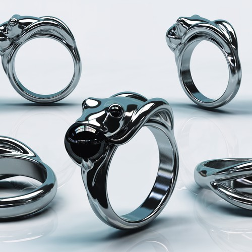 3D model jewelry
