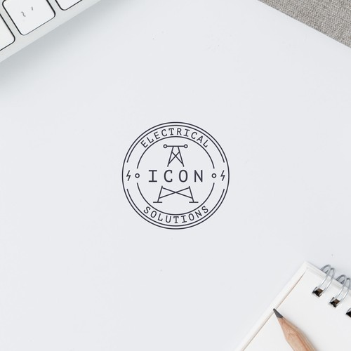 Emblem Logo for Electrical Company