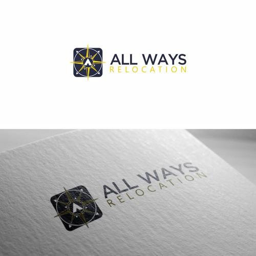 Compas Logo for ALL Ways Relocatin