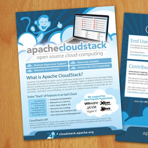 Flyer for apachecloudstack