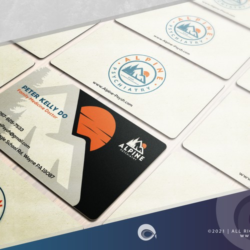 Cool Business Card for Medical & Pharmaceutical CO