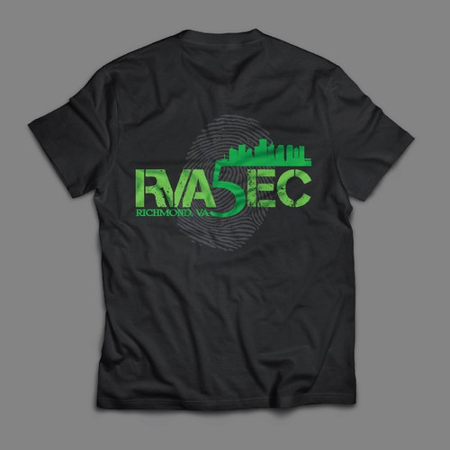 T-shirt design for Security conference