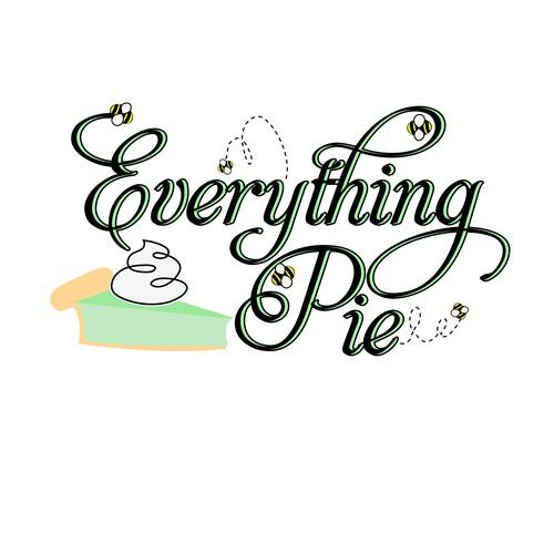 Logo design concept for a pie business