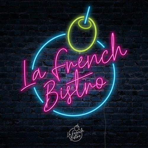 Logotipo vintage 80s para Bar nocturno