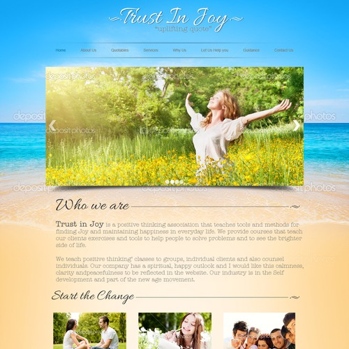 Positive Thinking Website