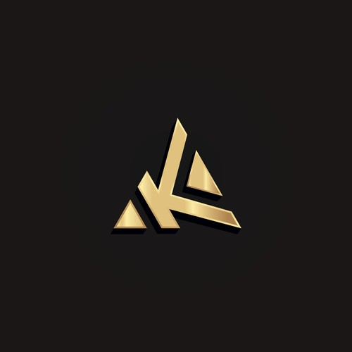 Logo K pyramide