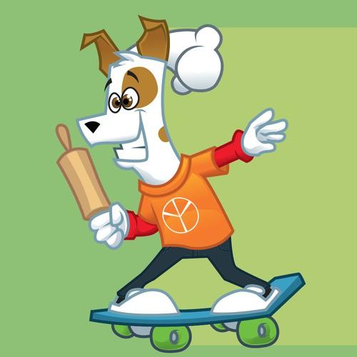 Cool chef dog