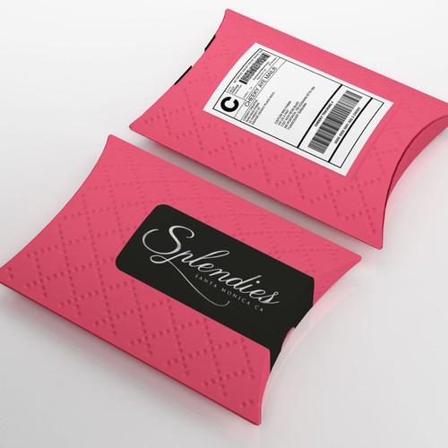 Pillow Box Mailer for Panties Club
