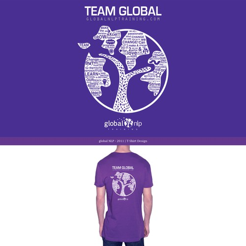 T-Shirt Design - Global NLP