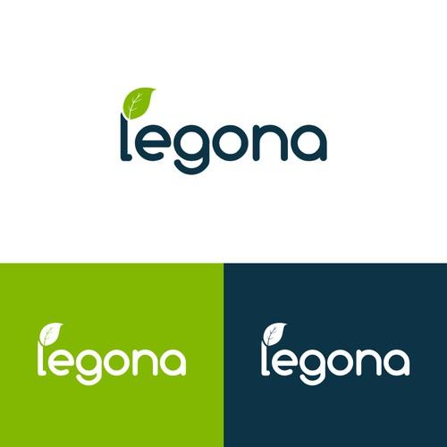 Organic logo for a natural e-commerce company.