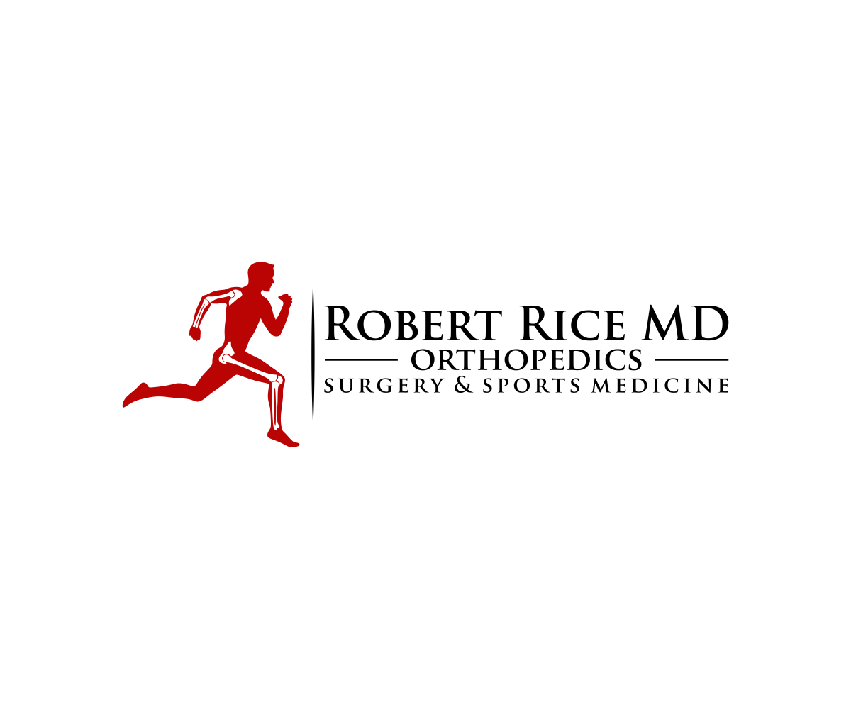 Create a bold logo for a sports orthopedic surgeon