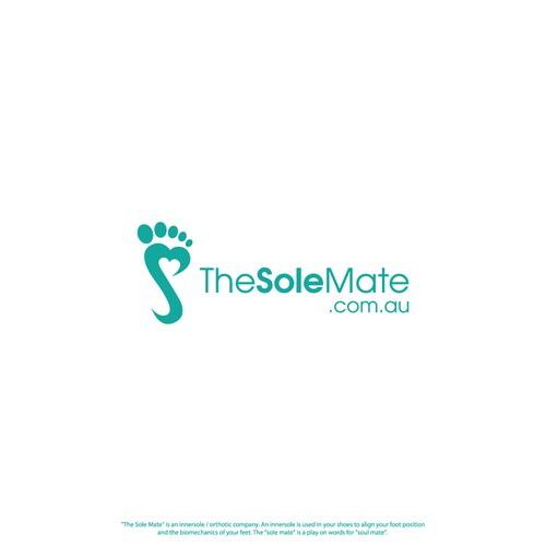 Logo for an innersole / orthotic company