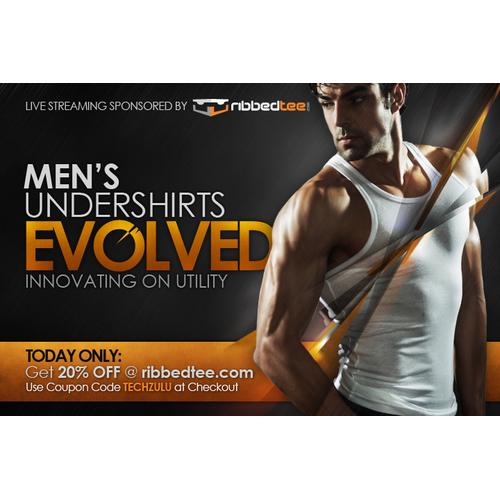 Web Ad for Tee Shirt Company