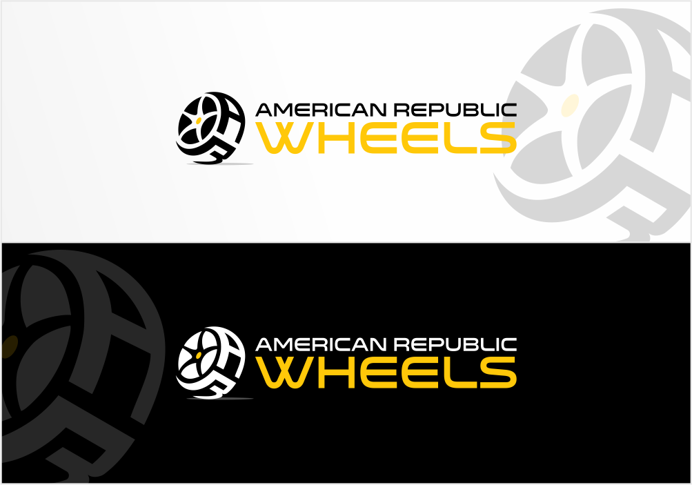 Create the next logo for American Republic Wheels