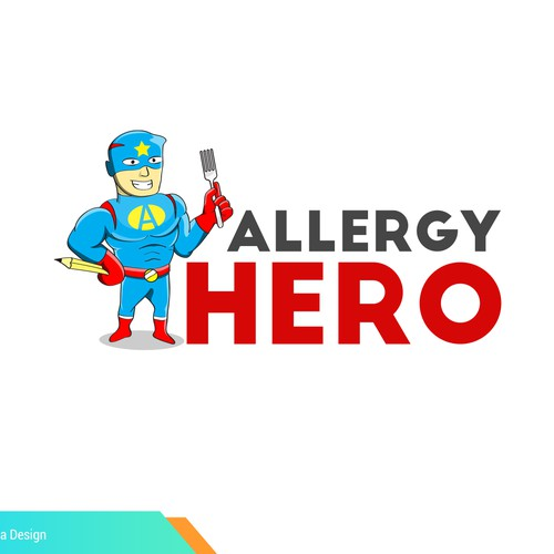 hero logo for allergy resto