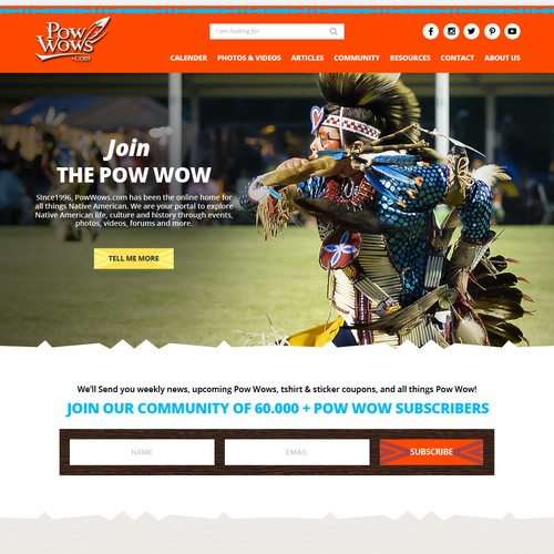Website for PowWows