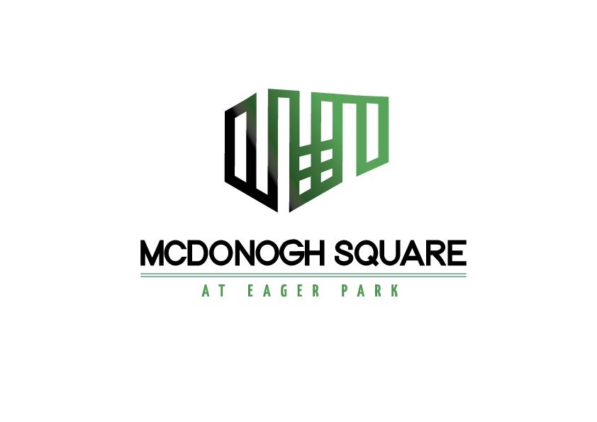 LOGO DESIGN FOR MCDONOGH SQUARE AT EAGER PARK