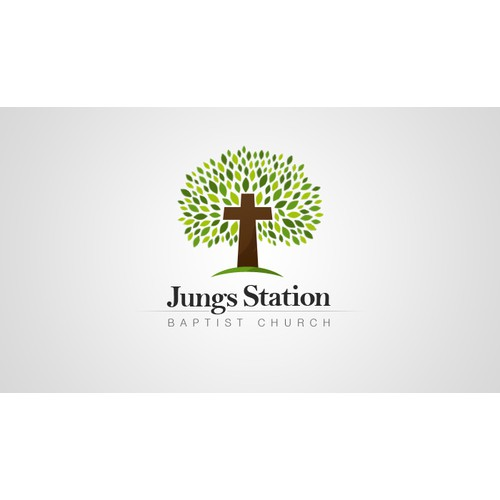 logo for Jungs Station Baptist Church