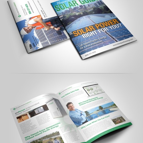 Advertorial Booklet Concept for Direct Mail - Island Pacific Energy