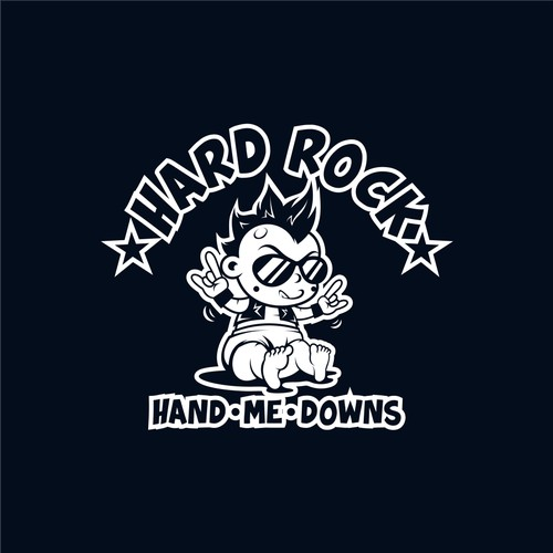 baby rocker logo for Hard Rock