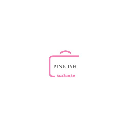 Create the next logo for Pink ish suitcase
