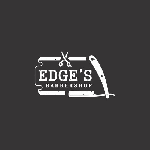 Logo for a new modern barbershop