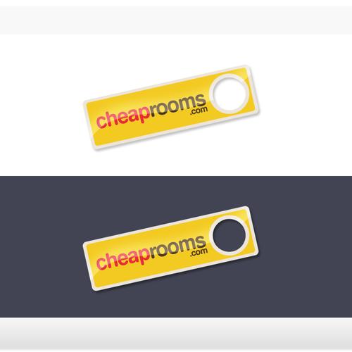 Logo for a travel site - CheapRooms.com