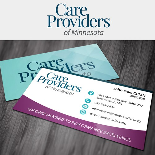 Care Providers Business Card