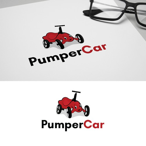 Logo concept for Pumper Car