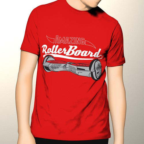Amazing RollerBoard t-shirt