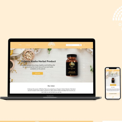 Home page for Organic Health Supplements