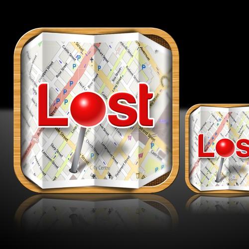 Lost icon