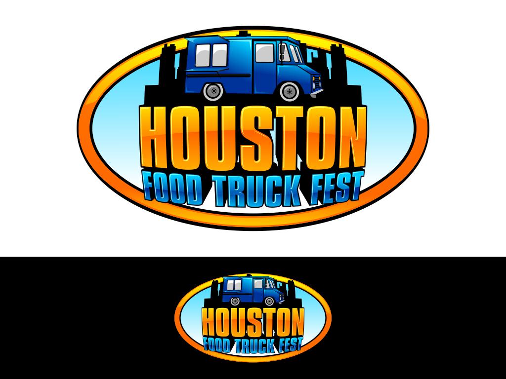 logo for Houston Food Truck Fest
