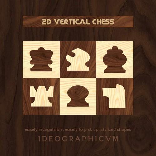 2D Vertical Chess