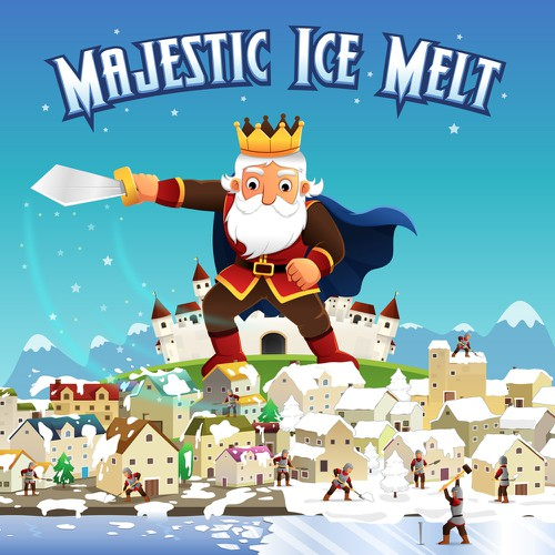 illustration for majestic ice melt