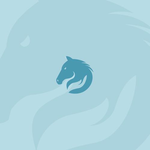 Sleek logo for Horse Care