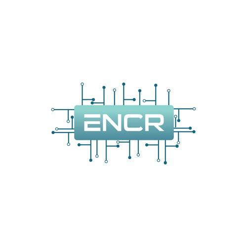 Modern logo concept for technology