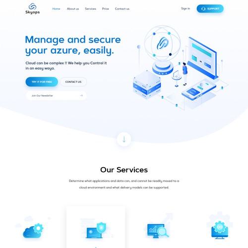 Skyops Website Design and Development