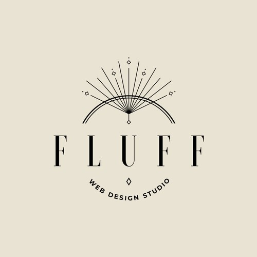 Logo concept for artistic web design studio
