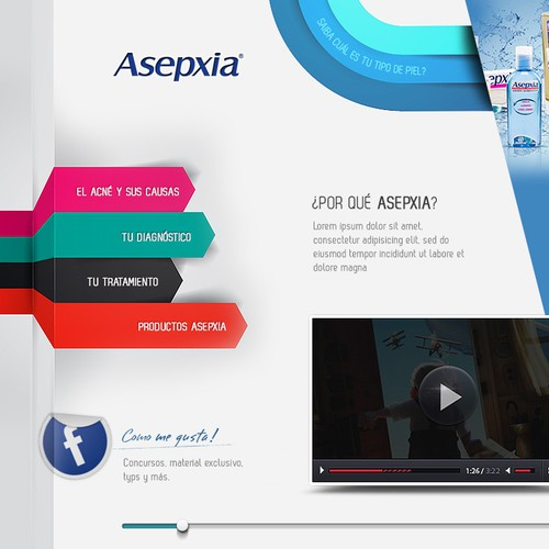Web Design for Asepxia