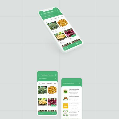 Online Marketplace Mobile App