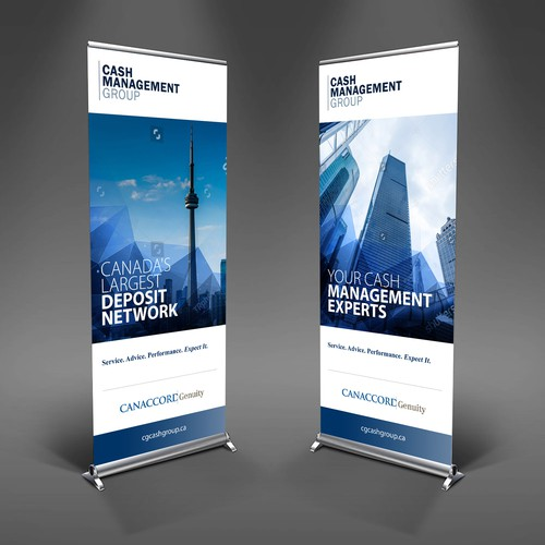CMG Roll Up Banner Design