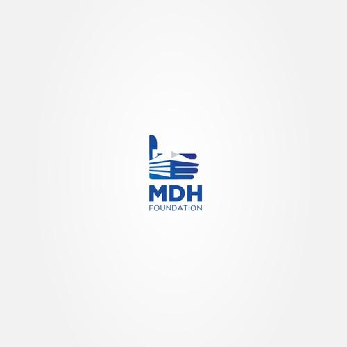 A minimalist modern logo for a real estate company